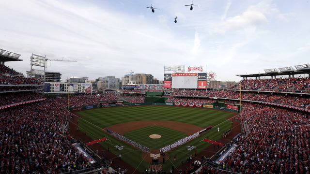Nats fans audition to sing 'Star-Spangled Banner.'