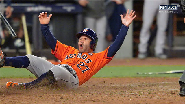 Yuli Gurriel's 3 run double gives Houston the lead in Game 4