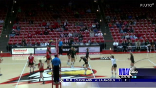 UND volleyball takes conference opener