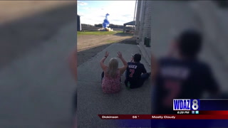 Hawley couple's gender reveal came with a big bang
