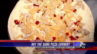 'New' Pizza Corner pizza not the same?