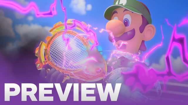 Mario Tennis Aces Hands-On Preview