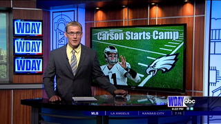 All eyes on Wentz as Eagles training camp opens