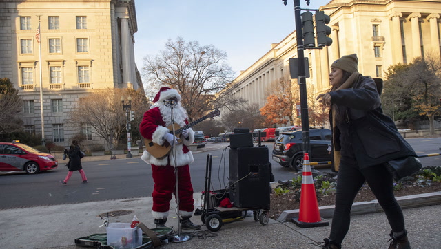 The reason this man spent $500 on a Santa suit