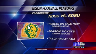 Bison ticket sales began today for NDSU vs SDSU