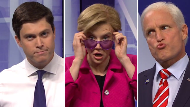 How SNL's parody compared with the real CNN LGBTQ town hall