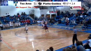 VIDEO: Hallie Hallock's buzzer-beater sends game into overtime