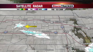 Tracking Flurries and Cold Temps this Morning