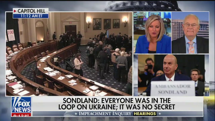 "Ken Starr on Sondland testimony: ""This has been one of those bombshell days"""