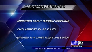 UND's Cashman arrested for 2nd DUI charge