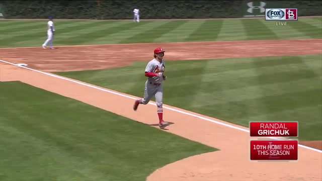 WATCH: Grichuk homers, DeJong connects for go-ahead double as Cardinals defeat Cubs