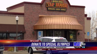 Moorhead Police collect tips at area restaurant for Special Olympics