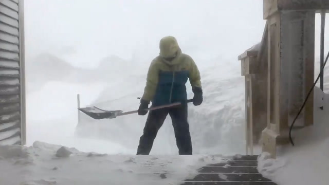 Blizzard slams Newfoundland with winds and snow