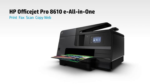 Hp Officejet Pro 8610 E All In One Printer