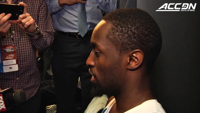 UNC's Theo Pinson Locker Room Interview After 2nd Round Loss To Texas A&M