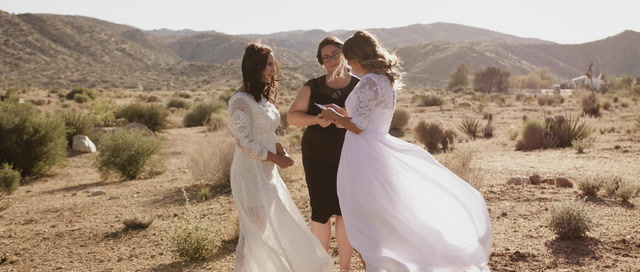 Bianca + Zena | Joshua Tree, California | Rimrock Ranch