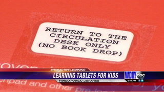 Fargo Public Library now offers tablets for interactive learning