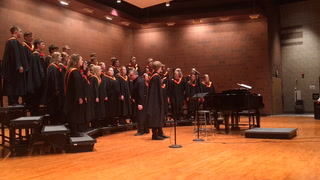 MAHS a cappella choir