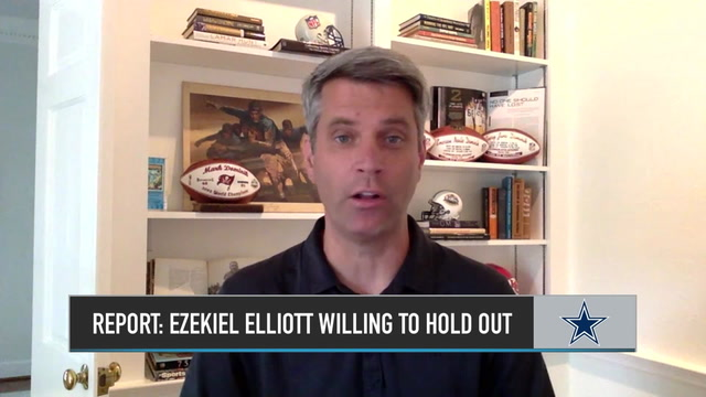 Mark Dominik on the Potential That Ezekiel Elliott Will Hold Out