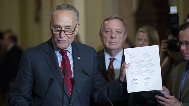 Schumer slams 'the latest version of Trumpcare'