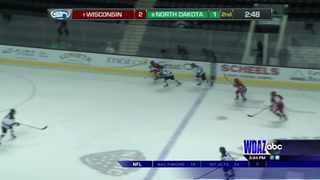 UND women swept by #1 Wisconsin