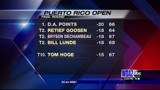 Tom Hoge finishes 10th at the Puerto Rico Open