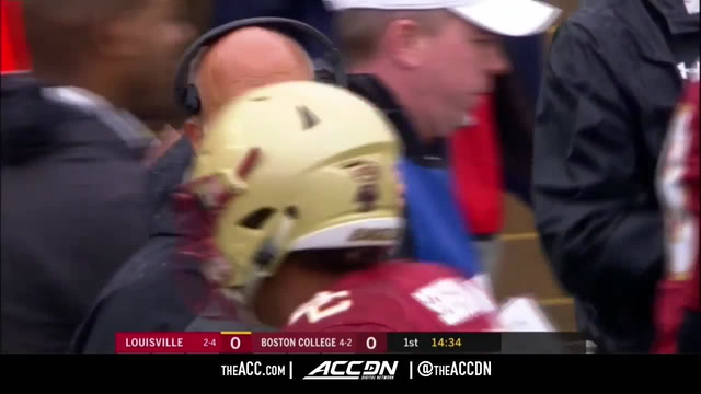 Louisville vs. Boston College Condensed Game | 2018 ACC Football