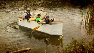 Cardboard Boat Races at UMD