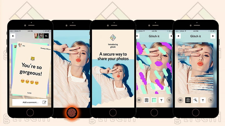 Inspired By Hacking Scandals, Glitchi Wants To Be The Only App You Use For Private Photo Messaging