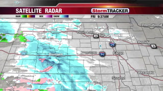 Friday Early Afternoon Snow Update