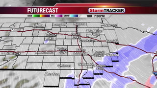 Thursday Snow Leaving us with Slick Roads... More Snow Friday