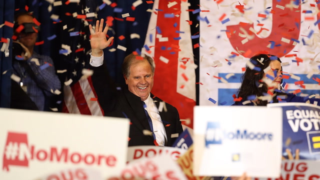 Doug Jones's victory speech, in three minutes