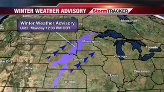 Rain, Snow, & Wind Overnight - Monday