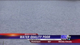 Water quality shuts down local beach