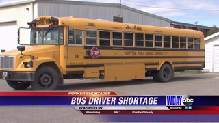 Bus driver shortage in Wahpeton