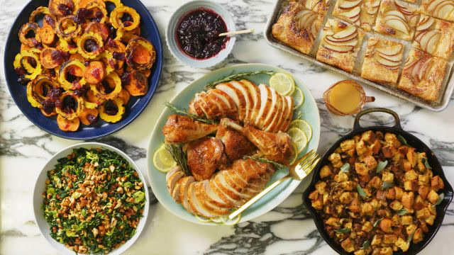 This Thanksgiving Menu Only Takes 3 Hours