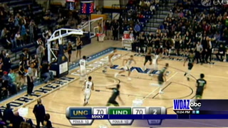 UND men edge Northern Colorado in overtime