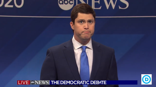 SNL reenacts Democratic debate ahead of New Hampshire primary