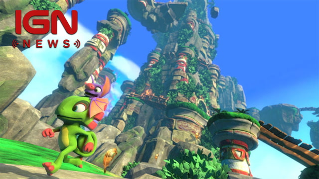Yooka-Laylee Switch Release Held Up By Engine Problems - IGN News
