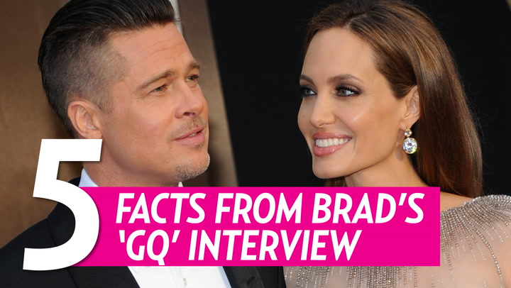 Brad Pitt Speaks Out on Angelina Jolie Split: Our Family Is 'Ripped Apart'