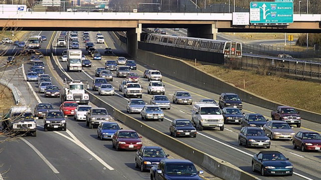 This is how the newly added toll lanes on Interstate 66 work