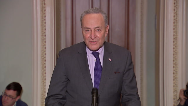Schumer on delaying Trump's State of the Union address