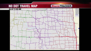 Road Closures, Dangerous Travel, and Bitter Cold