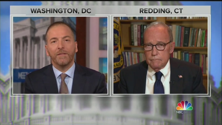 Larry Kudlow, Trump Chief Economic Adviser, Brushes Off Concerns About Economy: 'I Sure Don't See a Recession'