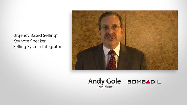 Motivational Sales Speaker & Sales Training Expert Andy Gole