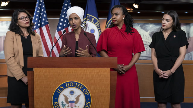 Small but united: Understanding the four-congresswomen 'squad'