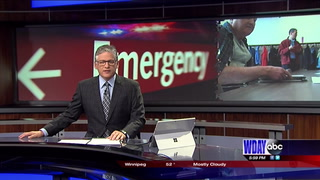 Emergency responders practice at local shelter