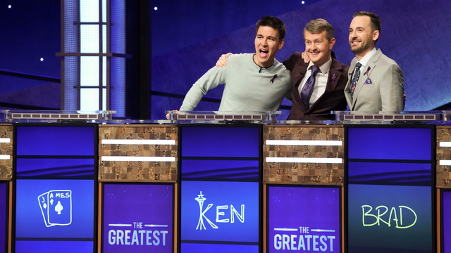"Ken Jennings wins the title of greatest ""Jeopardy!"" player of all time"