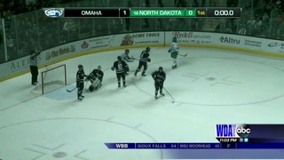 Omaha shuts out UND on Senior Night
