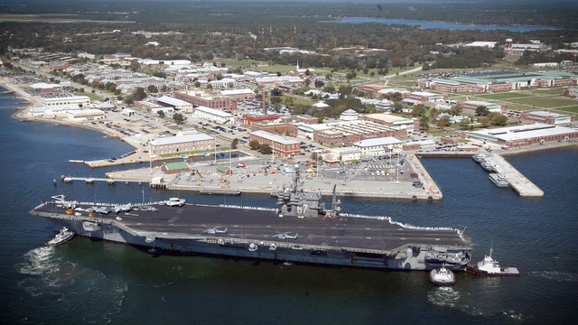Shooting at Pensacola Naval base leaves gunman, three others dead